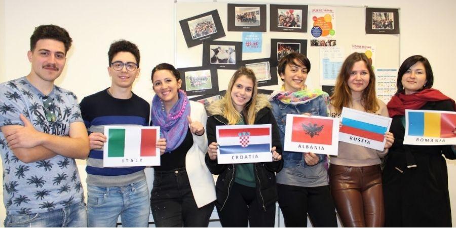 Alumnos interculturales en LSCM