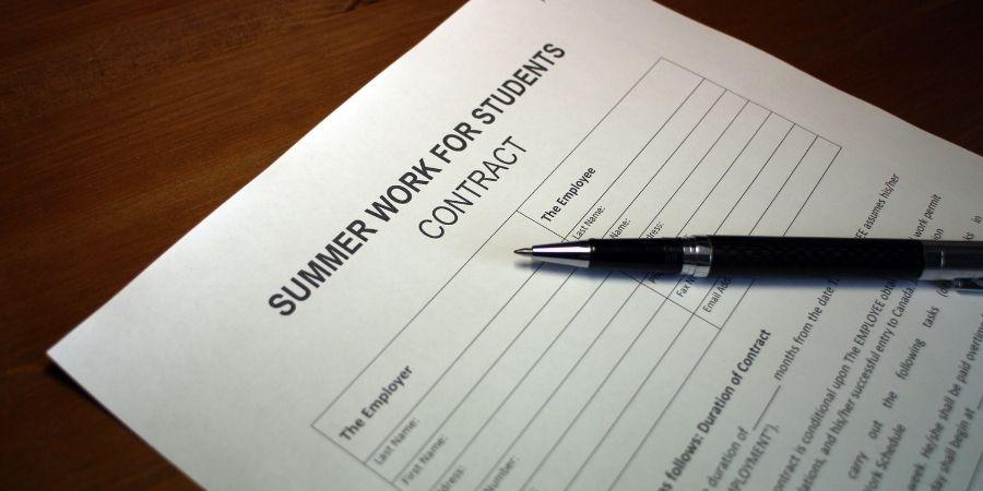 Permisos de trabajo para estudiantes en verano en Malta.