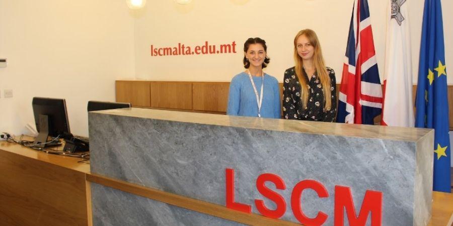 instalaciones de la universidad London School of Commerce Malta