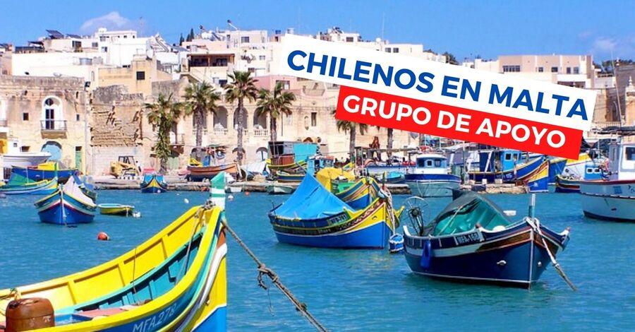 chilenos en malta