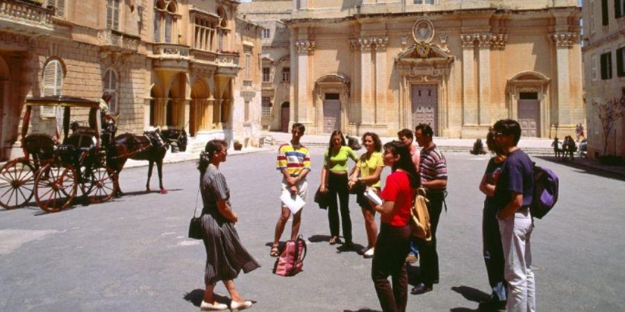 conociendo malta en excursiones Link School of English