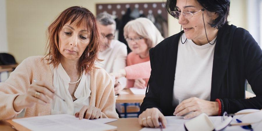cursos de ingles para adultos mayores de 50 en las escuelas de malta