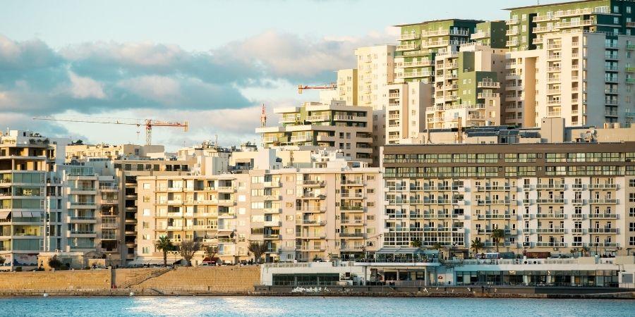 ciudad de sliema para vivir en malta